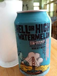Watermelon beer.  A refreshing summer treat!