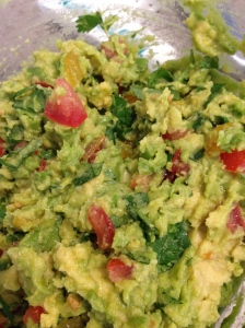 Fresh guacamole!  Fabulous and flexible!
