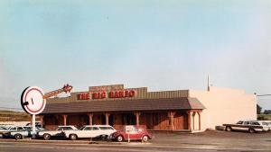 The Big Banjo.  A Friday night favorite for my family when I was a kid.  This picture does NOT include my parents huge evergreen colored Oldsmobile Delta 88 parked out front...
